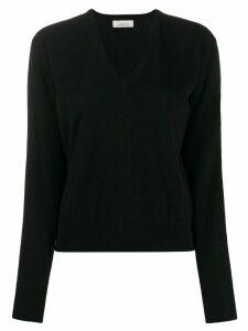 Laneus V-neck sweater - Black