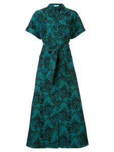 Erdem Cypress floral-print dress - Green