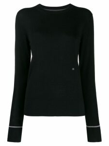 Calvin Klein slim-fit jumper - Black