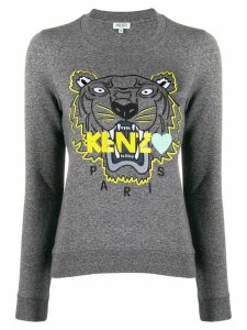 Kenzo embroidered Tiger sweatshirt - Grey