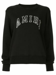 AMIRI College crew neck sweatshirt - Black