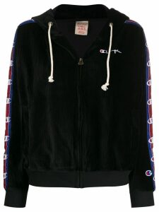 Champion corduroy zip-up hoodie - Black