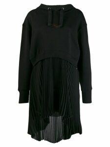 Philosophy Di Lorenzo Serafini hooded sweat dress - Black