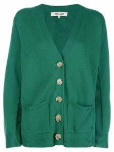 Diane von Furstenberg v-neck cardigan - Green