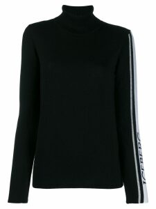 Iceberg logo lined jumper - Black