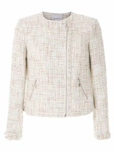 Olympiah off-white knitted jacket - NEUTRALS