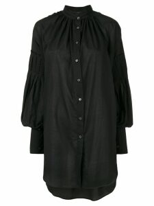 Ann Demeulemeester relaxed fit shirt - Black
