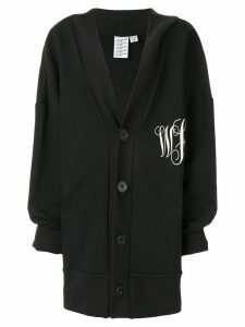Vaquera oversized cardigan - Black