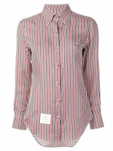 Thom Browne RWB silk lining shirt - White