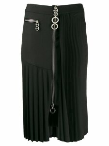 Smarteez side pleated skirt - Black