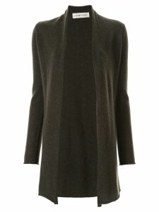 Lamberto Losani long-sleeve fitted cardigan - Grey