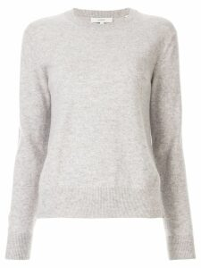 Vince long-sleeve fitted sweater - Grey