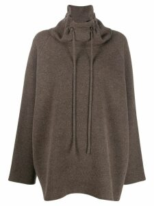 The Row Carnia tunic jumper - Brown