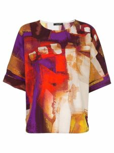 Natori printed shirt top - Multicolour