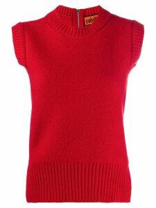 colville zip back vest - Red