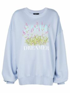 AMIRI Dreamer sweatshirt - Blue