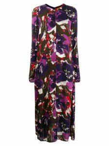 colville graphic print dress - PURPLE