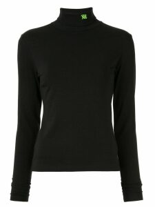 Misbhv turtle neck logo top - Black