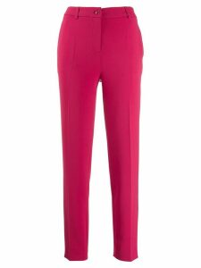 Moschino tapered trousers - PINK