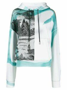 Eckhaus Latta Yosemite printed hoodie - White