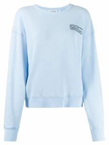 Essentiel Antwerp Tech sweatshirt - Blue