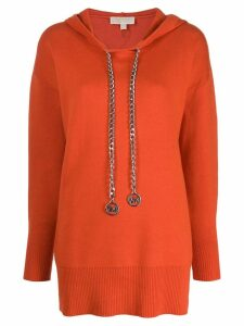 Michael Michael Kors chain hoodie - Orange