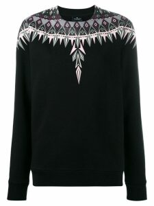 Marcelo Burlon County Of Milan Norwegian Wings sweatshirt - Black