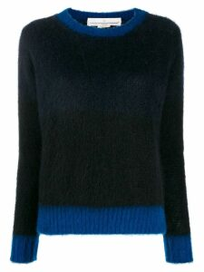 Golden Goose contrast trim jumper - Black