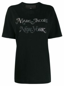 Marc Jacobs crystal embellished T-shirt - Black