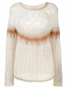 Forte Forte Naturale knit jumper - White