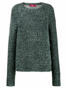 Sies Marjan Courtney tinsel-knit sweater - Blue