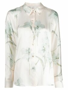 Vince floral-print shirt - NEUTRALS