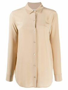 Equipment Misty plain shirt - NEUTRALS