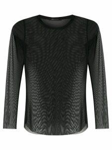 Uma Raquel Davidowicz Canto tulle blouse - Black
