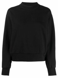 Aries mock neck sweatshirt - Black