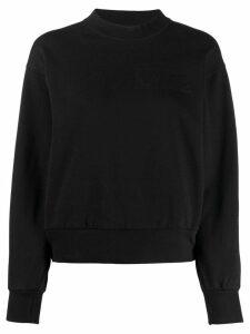 Aries mock neck sweatshirt - Black