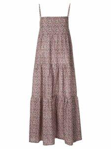 Matteau tiered summer dress - Multicolour