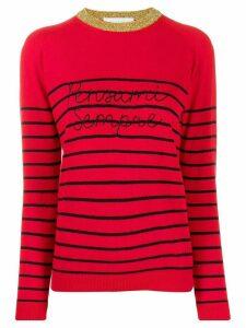 Giada Benincasa striped jumper - Red