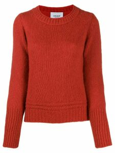 Dondup crew neck jumper - Red