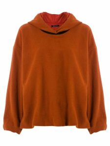 Uma Raquel Davidowicz Chaska fleece sweatshirt - Brown