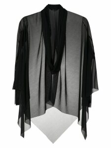 Uma Raquel Davidowicz Consul tulle tunic - Black