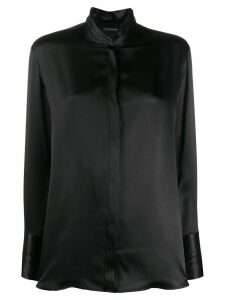 Etro concealed front shirt - Black