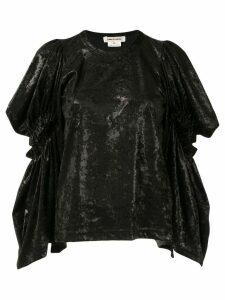 Comme Des Garçons slit sleeve shirt - Black