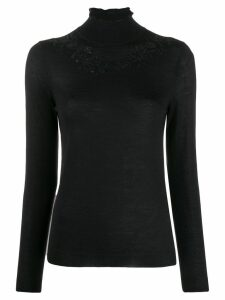 Etro turtle neck jumper - Black