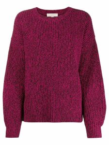 Michael Michael Kors loose-fit knitted jumper - PINK