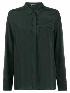 Iris Von Arnim concealed front shirt - Green