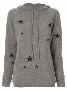 Chinti & Parker star knit hoodie - Grey