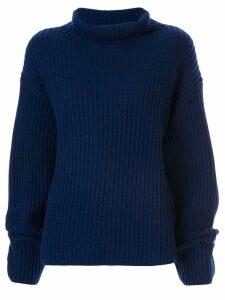 Sofie D'hoore cashmere rollneck sweater - Blue