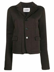 Jil Sander fitted blazer - NEUTRALS