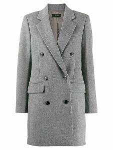 Joseph Elkins double-breasted coat - Grey